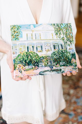 painting-of-south-carolina-wedding-venue-the-governor-thomas-bennett-house-art-southern-gift