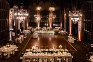 university-club-of-chicago-cathedral-hall-wedding-chandeliers-tables-around-dance-floor