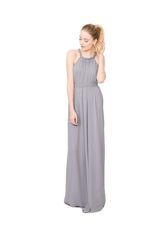 joanna-august-catherine-long-bridesmaid-dress-in-light-grey-with-twist-rope-straps