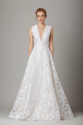 the-lake-v-neck-a-line-wedding-dress-by-lela-rose-fall-winter-2016