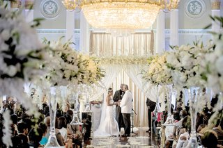 african-american-bride-and-groom-at-the-biltmore-ballrooms-ceremony