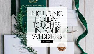 how-to-include-holiday-touches-in-your-wedding-ceremony-and-reception-holiday-wedding-ideas