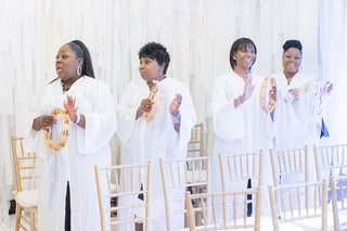 dallas-texas-wedding-ceremony-with-surprise-gospel-choir-music-before-brides-entrance-processional