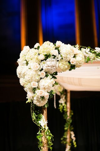 corner-of-chuppah-decorated-with-white-rose-hydrangea-and-orchid-flowers-with-ivy