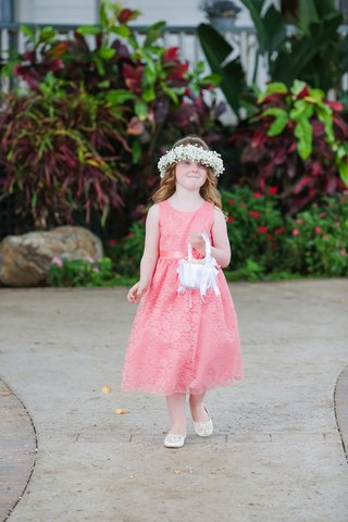 flower-girl-in-coral-pink-tea-length-tank-dress-and-flower-crown