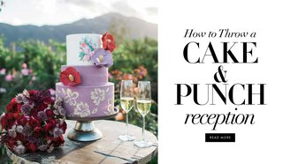 how-to-throw-a-cake-and-punch-reception