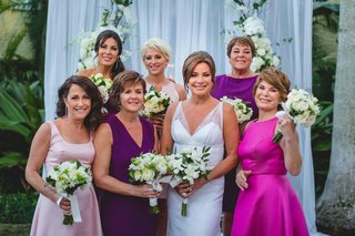 the-real-housewives-of-new-york-city-star-luann-de-lesseps-wedding-party-bridesmaids-in-dresses