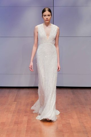 sheath-beaded-wedding-dress-with-deep-v-neck-by-rivini-fall-winter-2016-collection