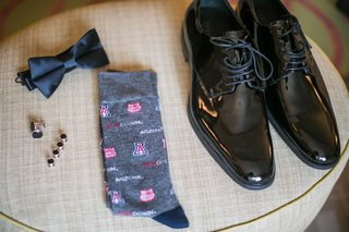grooms-dress-shoes-cuff-links-bow-tie-and-u-of-a-socks