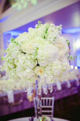snowy-hydrangea-and-roses-with-hanging-crystals