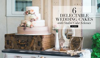 6-sweet-chic-yummy-ombre-wedding-cakes-reception-dessert-trendy-trends-modern-weddingq