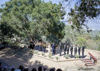 outdoor-ceremony-in-santa-barbara-california-on-hill-in-park-and-forest-bohemian-couple