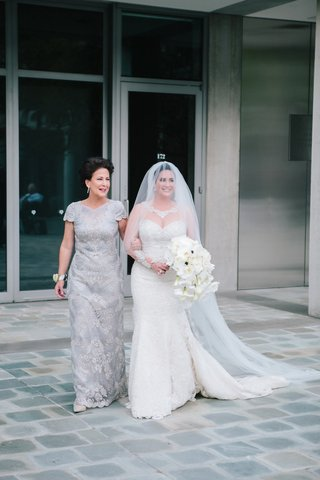 mother-of-the-bride-walks-bride-down-the-aisle-bride-in-martina-liana-gown-and-blusher-veil