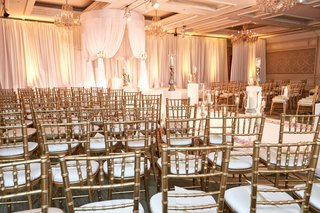 four-seasons-chicago-wedding-gold-chiavari-chairs
