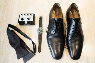 black-loafers-watch-gem-cufflinks-silk-tie