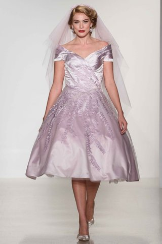 matthew-christopher-2016-1950s-inspired-purple-tea-length-wedding-dress