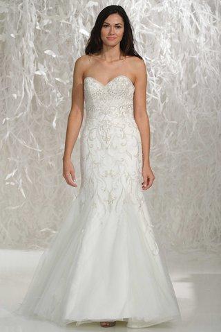 wtoo-brides-2016-strapless-fit-and-flare-beaded-wedding-dress