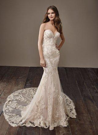 badgley-mischka-bride-2018-collection-wedding-dress-breanne-strapless-bridal-gown-blush-champagne