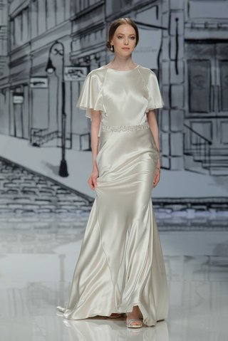 justin-alexander-spring-summer-2017-silk-charmeuse-ivory-short-sleeve-wedding-dress-godet-skirt