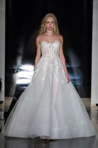 reem-acra-spring-2017-strapless-a-line-ball-gown-with-corset-top-and-lace-details-wedding-dress