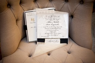 white-and-black-invites-with-sheer-paper-overlay