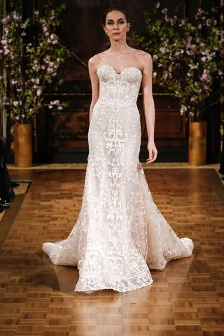 isabelle-armstrong-spring-2017-aubrey-strapless-corset-bodice-wedding-dress-scroll-design-fit-flare