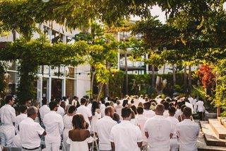 hotel-maya-white-wedding-wedding-guests-in-white-white-party