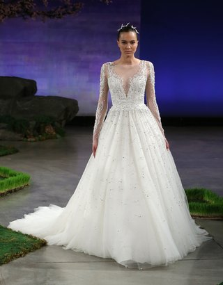 ines-di-santo-jules-ball-gown-style-wedding-dress-with-long-sleeves-embroidery-and-sequins