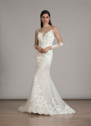 liancarlo-fall-2016-long-sleeve-illusion-mermaid-wedding-dress