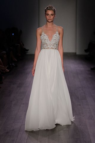hayley-paige-2016-sheath-wedding-dress-with-embellished-crystal-bodice-and-straps