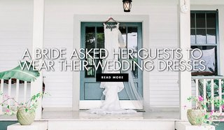 a-bride-asked-her-guests-to-wear-their-wedding-dresses-to-her-wedding