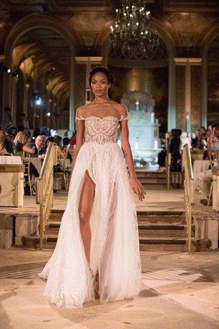 idan-cohen-fall-winter-2018-empire-of-love-wedding-dress-illusion-short-sleeve-gown-high-slit