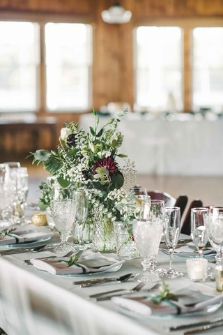 simple-green-based-tablescape-color-palette-burgundy-hint-long-maine-wedding-peaks-island