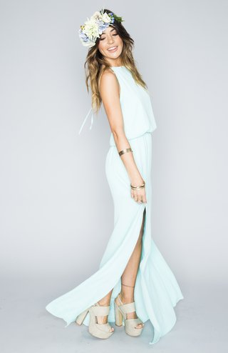 sea-blue-halter-bridesmaid-dress-with-slit-in-skirt