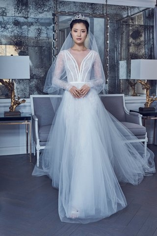 style-rk9407-by-romona-keveza-spring-2019-illusion-sleeves-lace-bodice-with-grosgrain-details