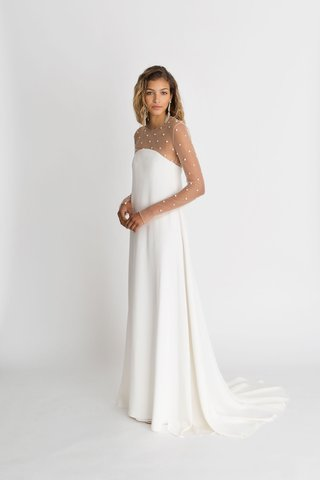 alexandra-grecco-fall-winter-2018-the-magic-hour-wedding-dress-cohen-sheath-over-sheer-long-sleeve