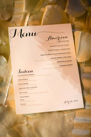 wedding-reception-menu-with-american-and-indian-option