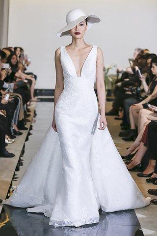 justin-alexander-spring-2018-jacquard-gown-square-v-neck-detachable-train-designer-wedding-dress
