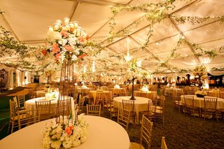 garlands-of-greenery-and-string-lights-on-ceiling