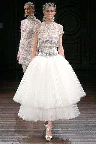 naeem-khan-bridal-spring-2017-cannes-wedding-dress-with-beaded-short-sleeve-bodice-tier-tulle-skirt