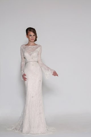 beaded-chantilly-lace-sheath-with-a-sheer-bateau-neckline-over-deep-v-neck-lining-plunging-open-bac