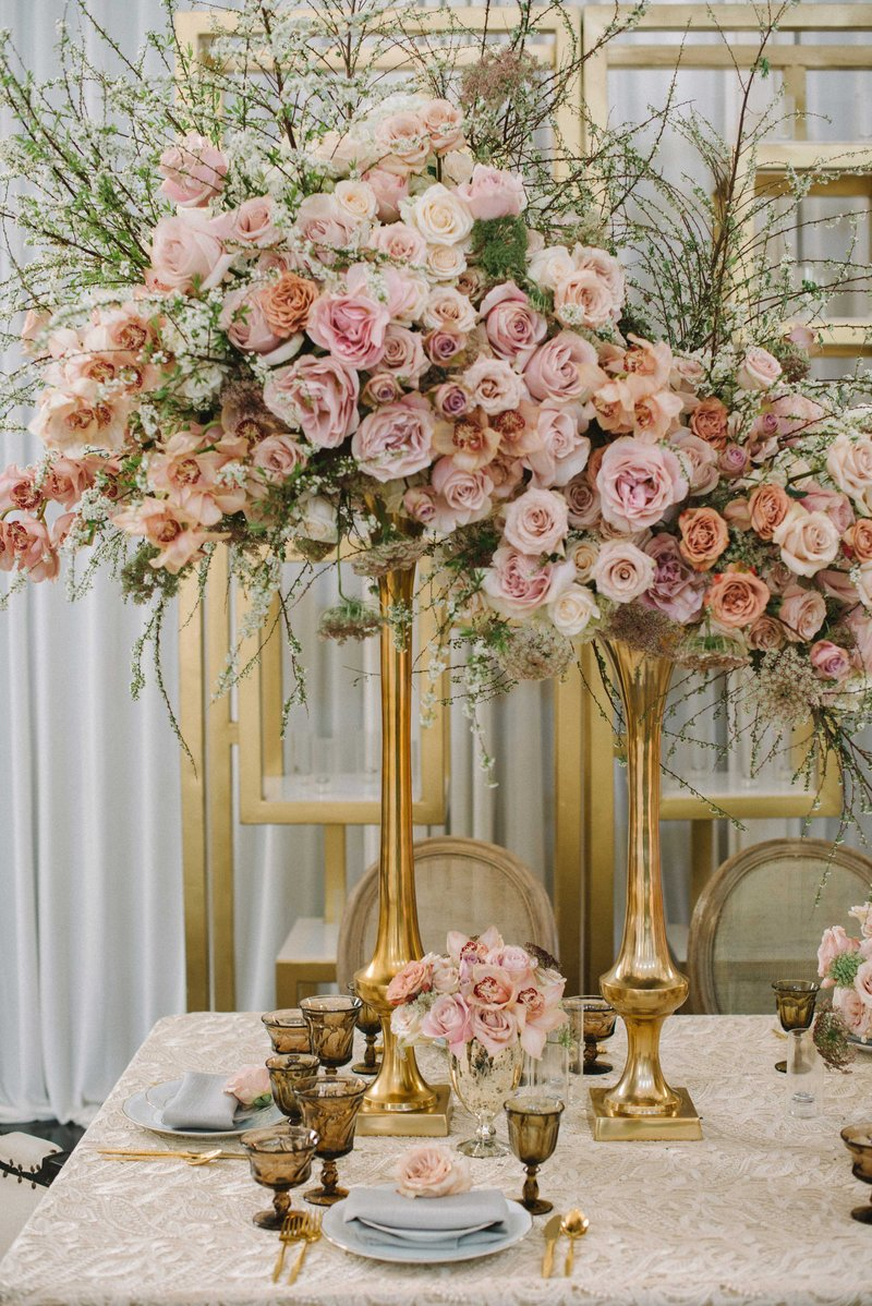 Tall Flower Arrangements To Inspire Your Reception Centerpieces