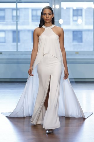 99037-by-justin-alexander-spring-2019-clean-column-gown-paired-with-flowing-cape