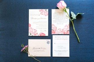 pink-rose-design-motif-for-wedding-vow-renewal-anniversary