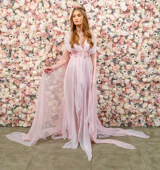 michael-costello-spring-summer-2018-bridal-couture-collection-grecian-wedding-dress-pink-flowy-gown