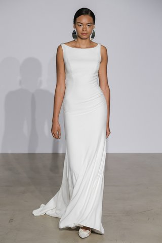 justin-alexander-fall-2018-crepe-fit-and-flare-gown-with-illusion-back-detail