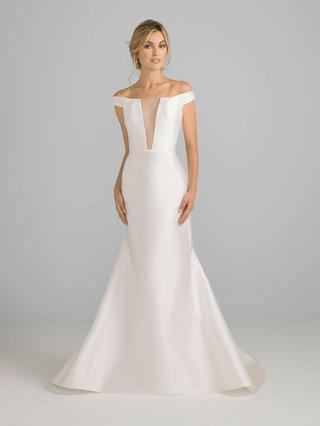 azul-by-liancarlo-2018-bridal-collection-off-shoulder-silk-satin-wedding-dress-illusion-v-neckline