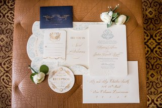 nico-lala-custom-invitation-suite-with-blue-and-gold
