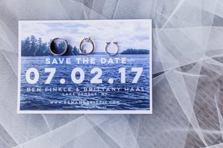 save-the-date-card-with-modern-font-photo-of-lake-george-new-york