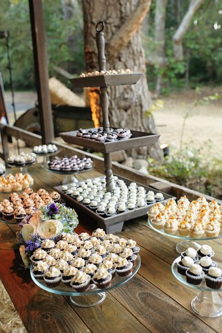 melissa-claire-egan-rustic-wedding-mini-cupcake-station